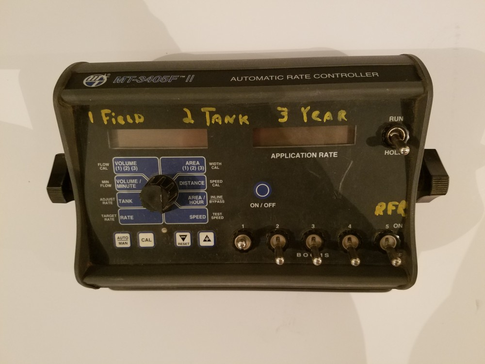 Rate Controller, used equipment, for sale