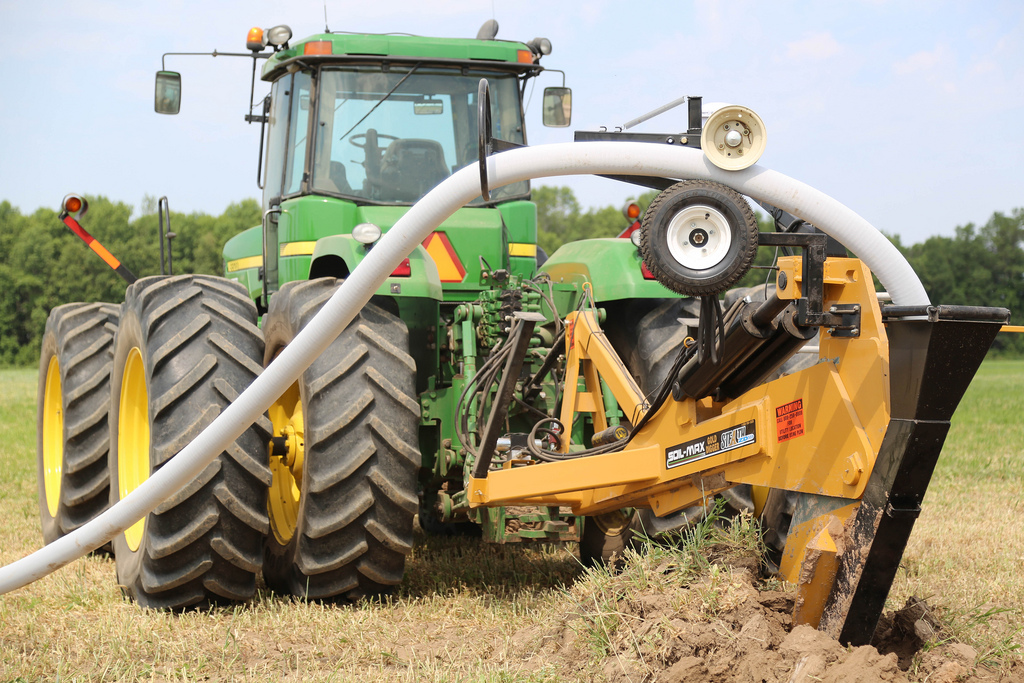 soil max, drainage equipment, water management